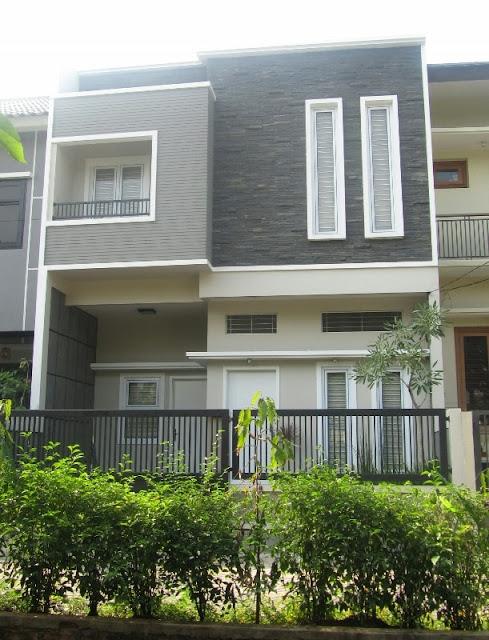 73 model rumah minimalis 2 lantai tampak depan dengan