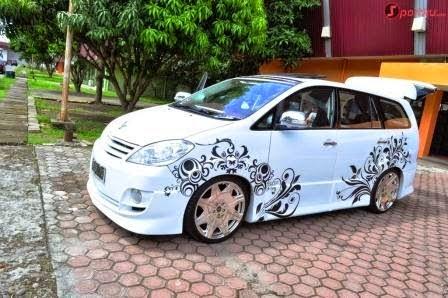 modifikasi mobil toyota kijang  inova