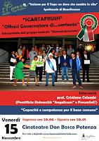 """VENERDI' 15 NOVEMBRE 2013 """"Offresi governatore di...vertente"""" - Potenza"""