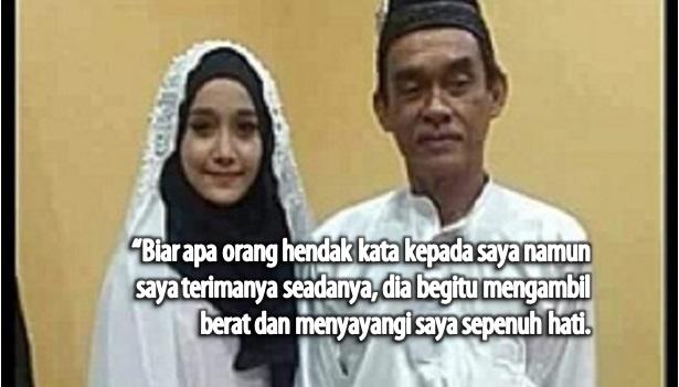 Gadis 18 Tahun Dedah Sebab Kahwin Dengan Suami 62 Tahun