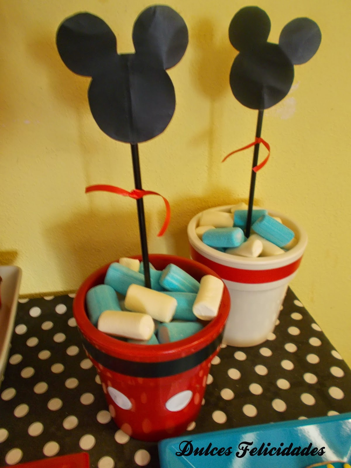 Macetas Mickey Mouse