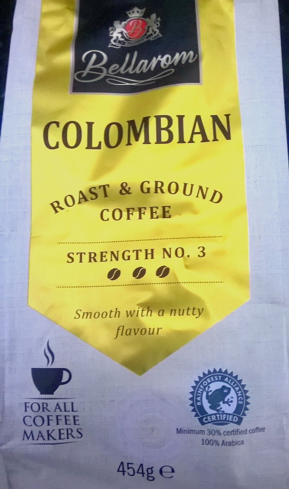 Smell The Tea And Coffee Lidl Bellarom Colombian Coffee