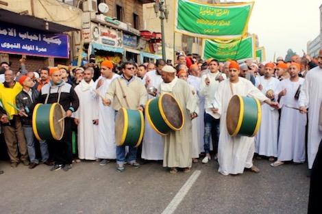 الحداد يلغي تنظيم موكب صوفي في القاهرة