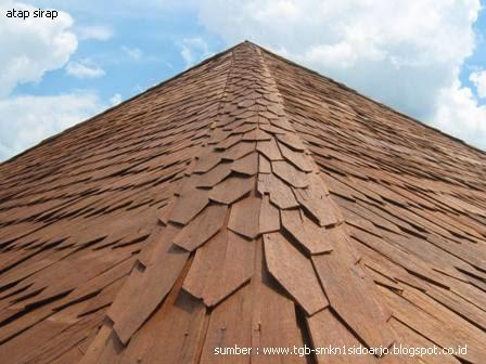 Atap Sirap Rumah Joglo