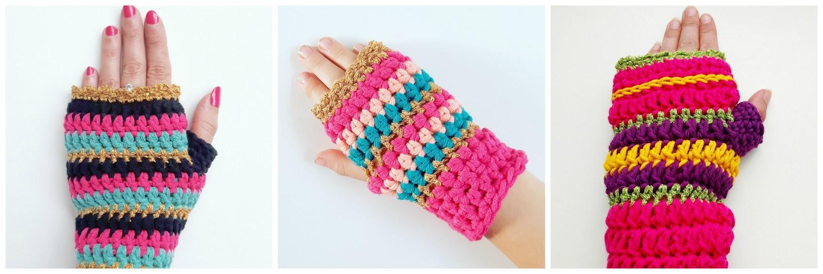 Crochet Addict Koud Buiten Haak De Haakfeest Polswarmers