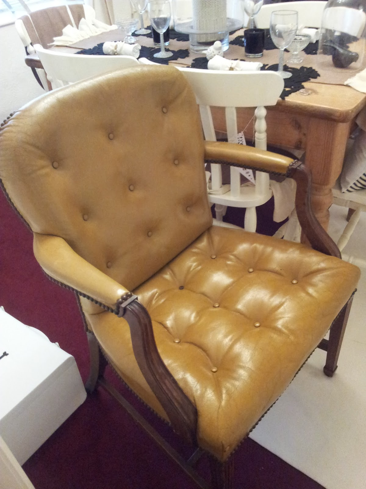 Can I Spray Paint My Leather Sofa Single Foam Bed Uk Painted Chair Twigg Studios