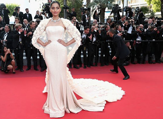 Sonam Kapoor in yet another Ralph and Russo Couture gown: Cannes 2016