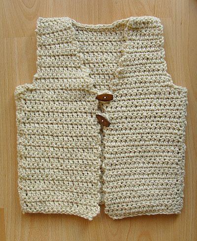 Borduurblog Mouwloos Vest