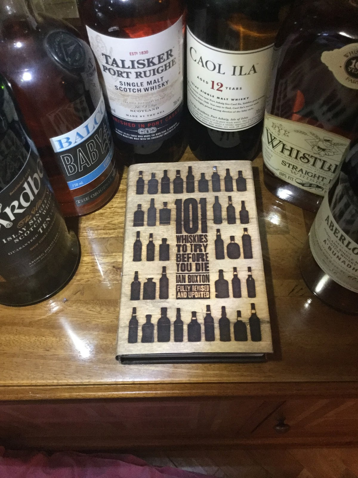 """101 things about the book """"101 Whiskies to try before you die (fully  revised and updated) (2016) - Ian Buxton - Headline Publishing"""