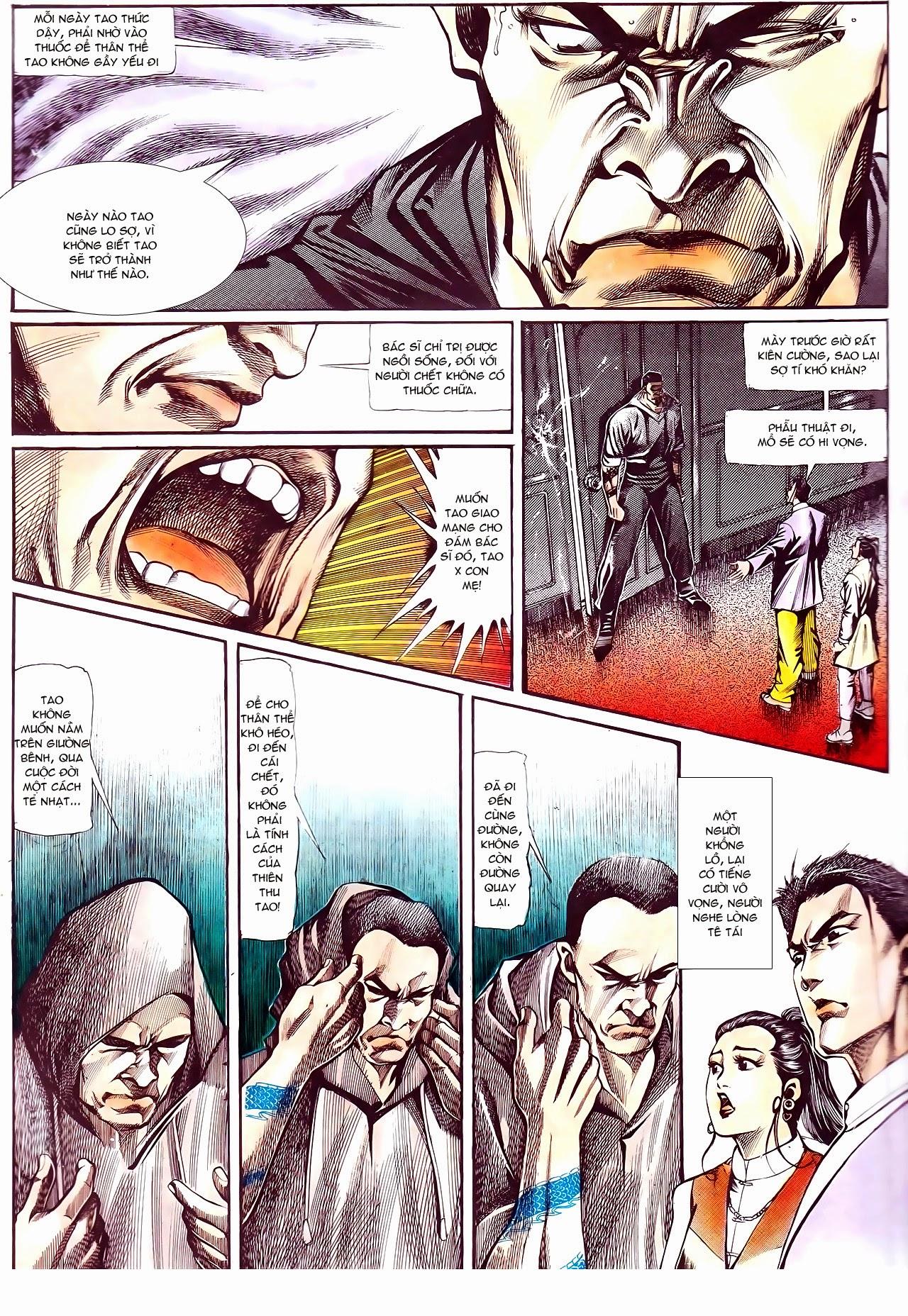Người Trong Giang Hồ chapter 111: đời không nuối tiếc trang 11