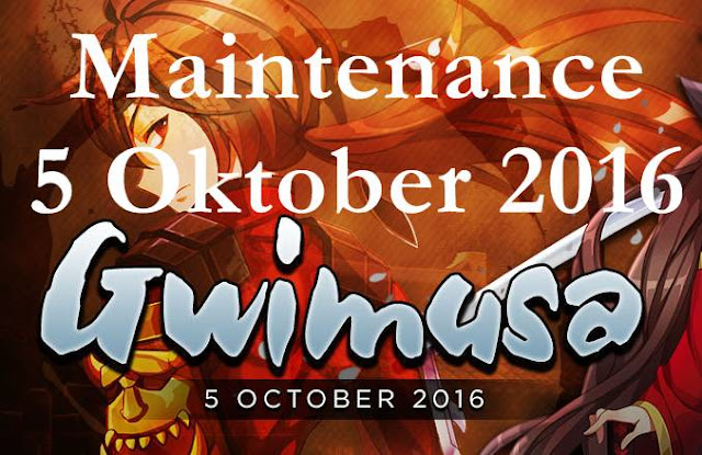 Info Maintenance Lost Saga 5 Oktober 2016 Update Hero Gwimusa