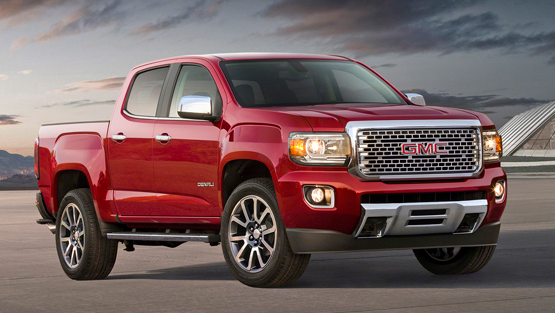 2018 GMC Canyon Specifications and Powertrain
