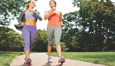 Đi bộ giúp giảm cân và cơ thể khoẻ mạnh
