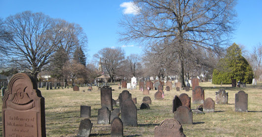 A Visit to the Old Burying Ground of Westfield, Massachusetts