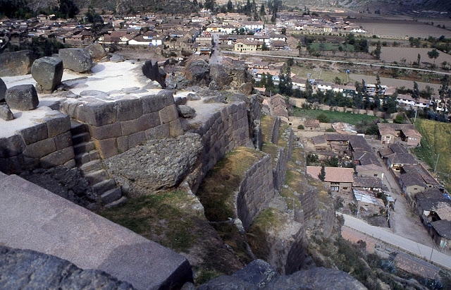 colline du Temple Ollantaytambo