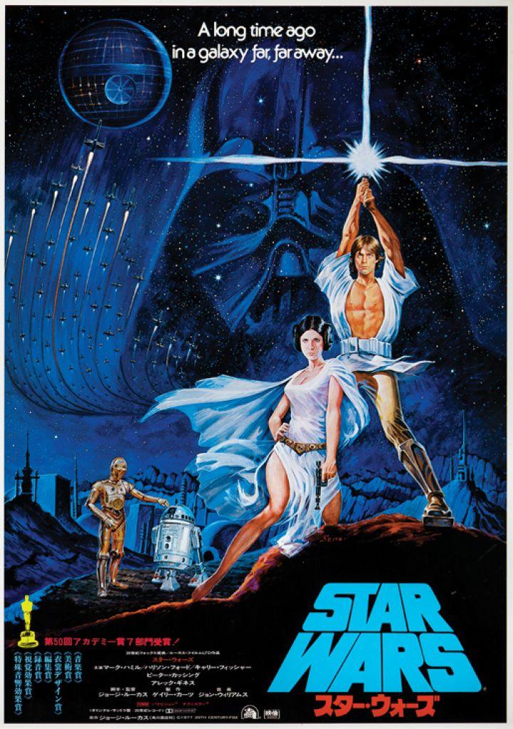 Star Wars Retro Poster