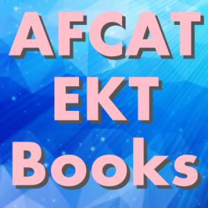 Best book for AFCAT EKT Exam