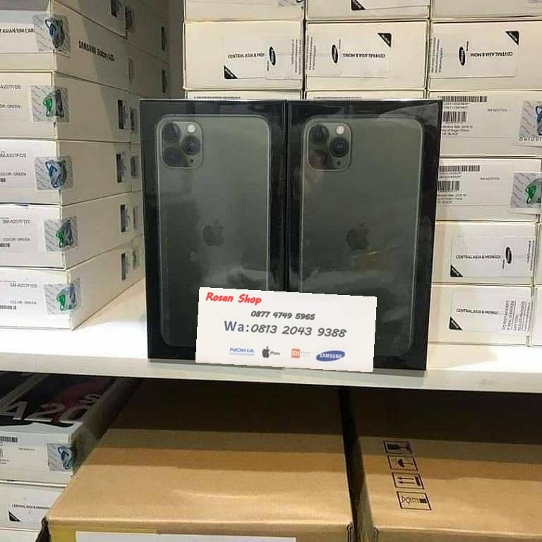 JUAL IPHONE 11 PRO MAX BLACK MARKET ORIGINAL