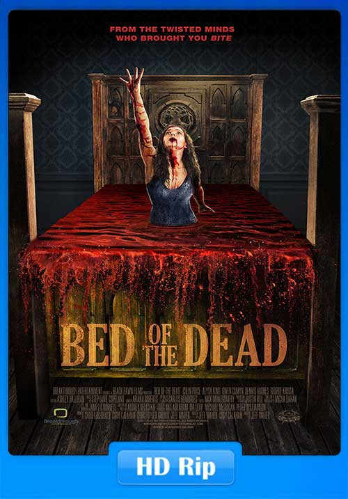 Bed Of The Dead 2016 200MB Horror Movie HDRip 480p x264 Poster