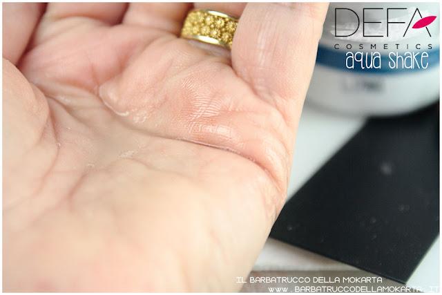 aqua shake bifasico defa cosmetics bio  defa cosmetics  skin care bio cosmesi pareri
