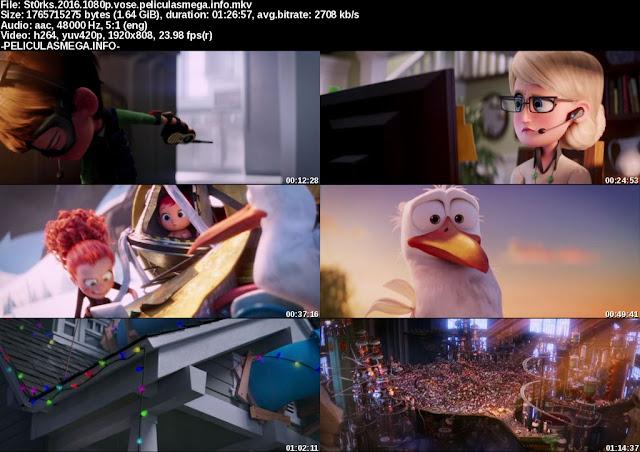 Descargar Storks Subtitulado por MEGA.