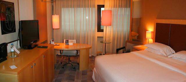 Room 7049, Sheraton Frankfurt Airport Hotel and Conference Center, Frankfurt, Germany
