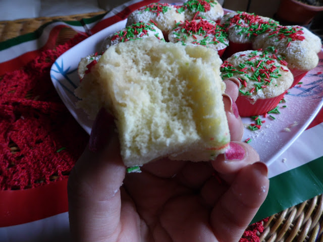 Muffins de limón hechos en microondas
