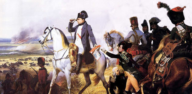 Napoleon Bonaparte en Wagram