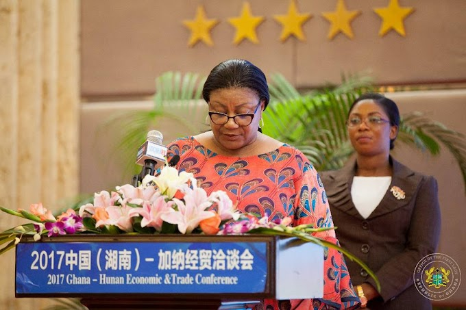 Ghana Is A Stable And Peaceful Country To Invest In - First Lady Rebecca Akufo-Addo Tells Chinese Investors