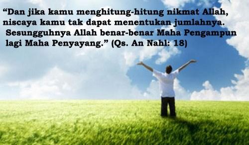 Apa yang Ditanam, Itu Juga yang Akan Dituai, 6 Hal Jika Kita Lakukan Akan Mendapat Nikmat Allah
