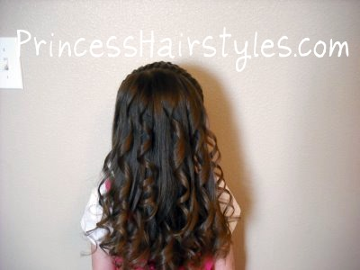 Marvelous Curling Iron Ringlets Hairstyles For Girls Princess Hairstyles Hairstyles For Women Draintrainus