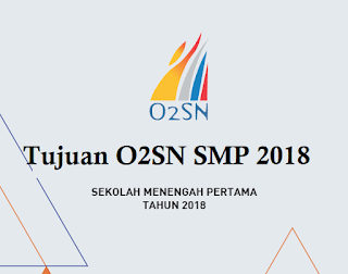 Tujuan O2SN SMP 2018