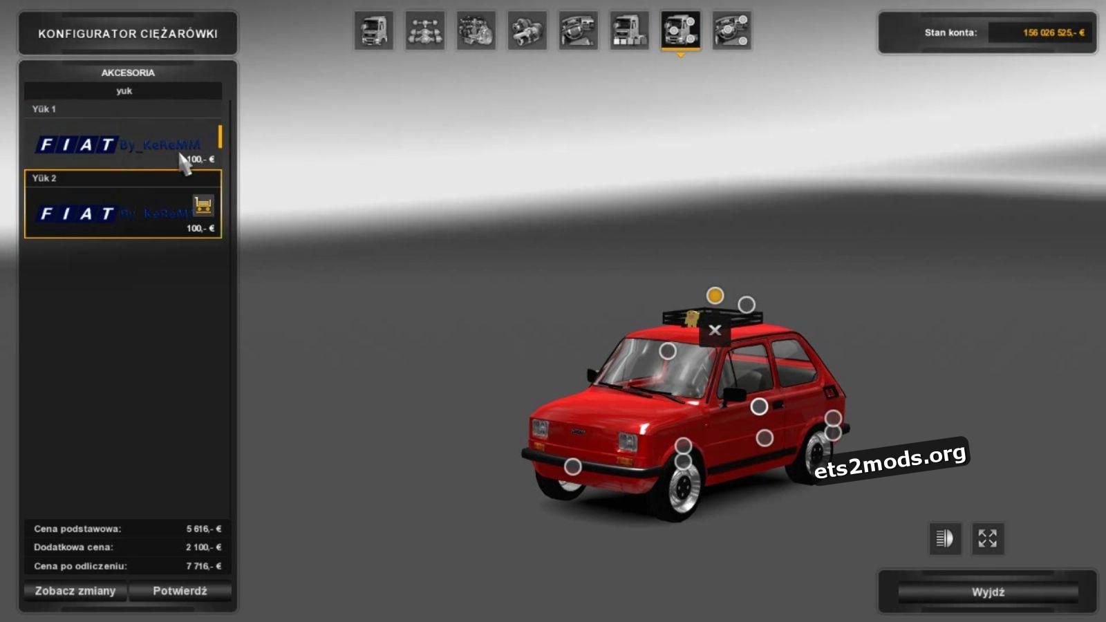 Car - Fiat 126p