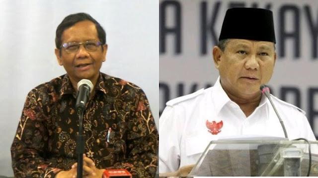 Heboh! Pesan Menohok Prof. Mahfud MD Untuk Prabowo Soal Indonesia Bubar 2030: Jangan Kacaukan NKRI dengan.....