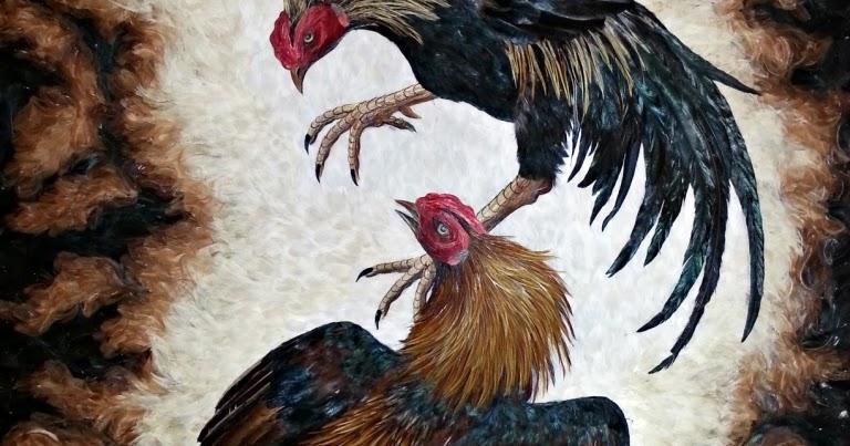 Lukisan Bulu Mengubah Limbah Menjadi Rupiah  Teknik