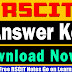 RSCIT Exam Answer Key 30 Sep 2018 | 30 September RSCIT Exam Answer Key