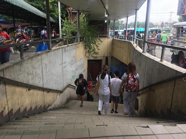 MAnila city hall underpass