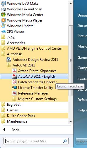 autocad 2011 crack 64 bit windows 7 free