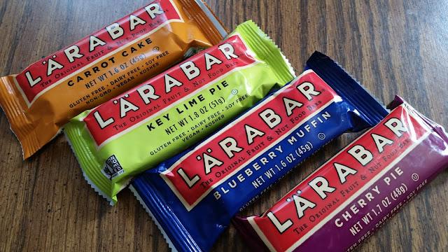 Four flavors of Larabar