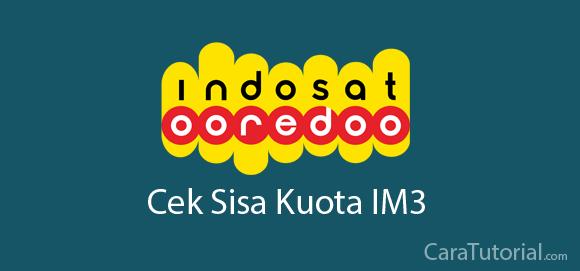 Cara Cek Sisa Kuota IM3 Paket Internet Indosat