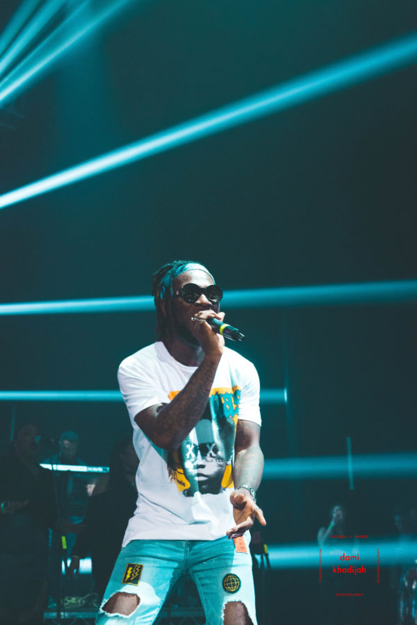 Burna Boy's manager says he is honored by a police call and has no connection on Mr 2Kay Robbery