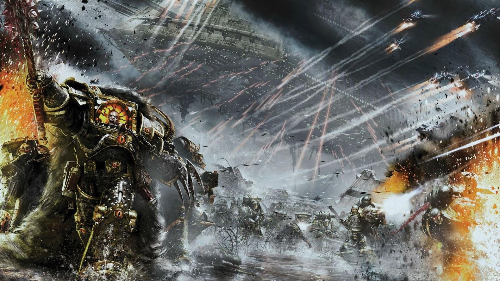 wallpaper warhammer 40k video - photo #20