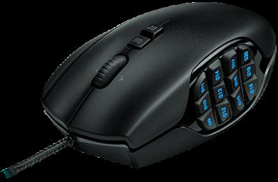 Logitech G600 mouse