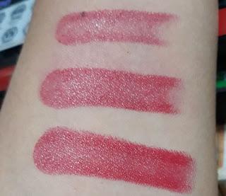 Review Electra Double Core Lipstick dari Sophie Paris.