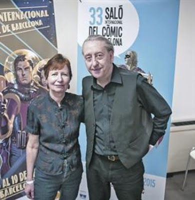 Bryan y Mary Talbot vuelven al Salón del Cómic para presentar sus novedades