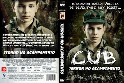 Filme Terror No Acampamento DVD Capa