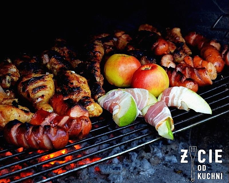 grill, majowka, dania z grilla, co na grill, salatki do grilla, zycie od kuchni