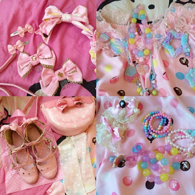 cute kawaii sweet lolita fashion 6%dokidoki harajuku pastel candy