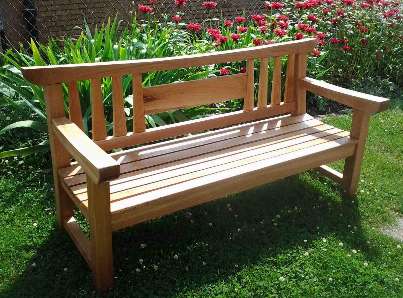 First Light Woodworking - Unplugged: Japanese Garden Bench