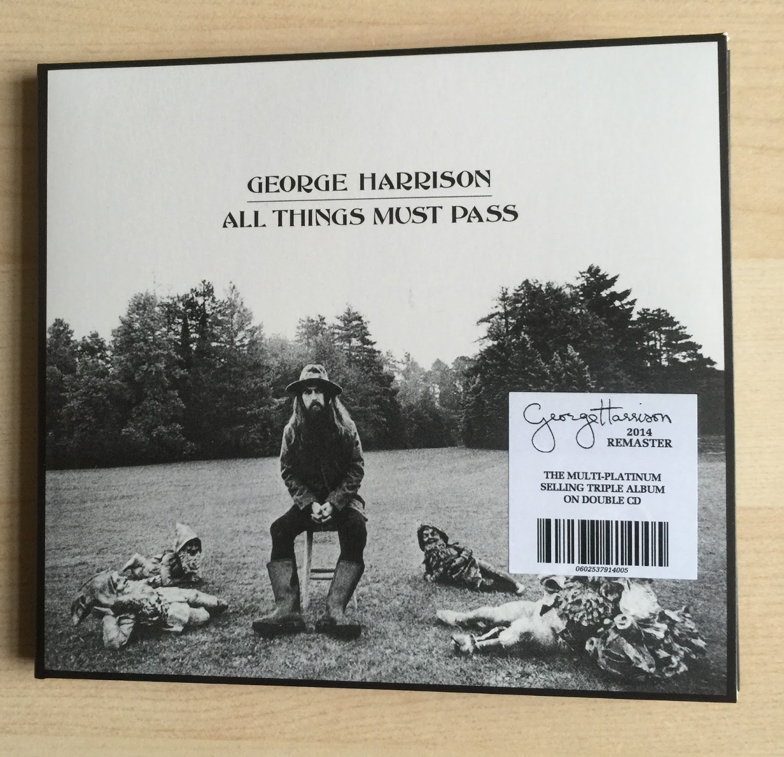 All Things Must Pass By GEORGE HARRISON 2014 Apple 2CD Reissue